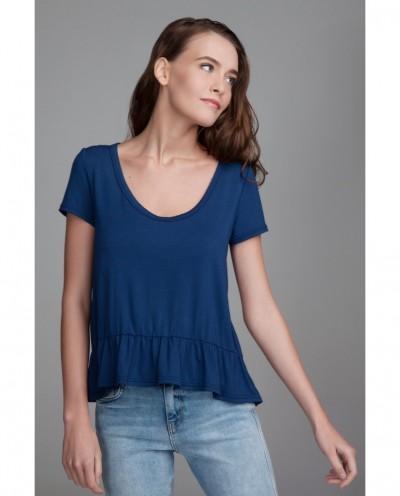 Блуза Зефир (синий)