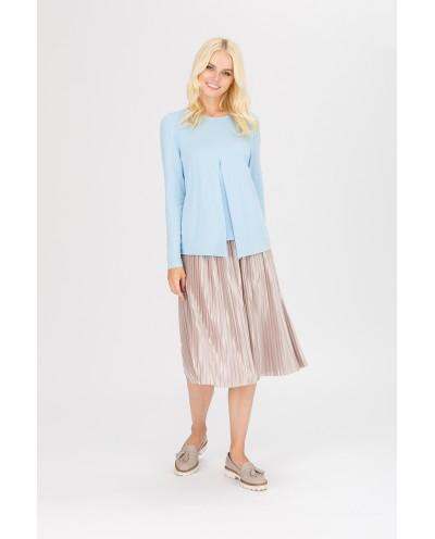 """Блуза """"Верба"""" голубая"""