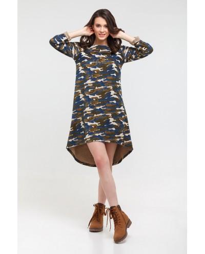 Платье (Аника) синий