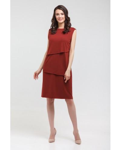 Платье Вербена (терракот)
