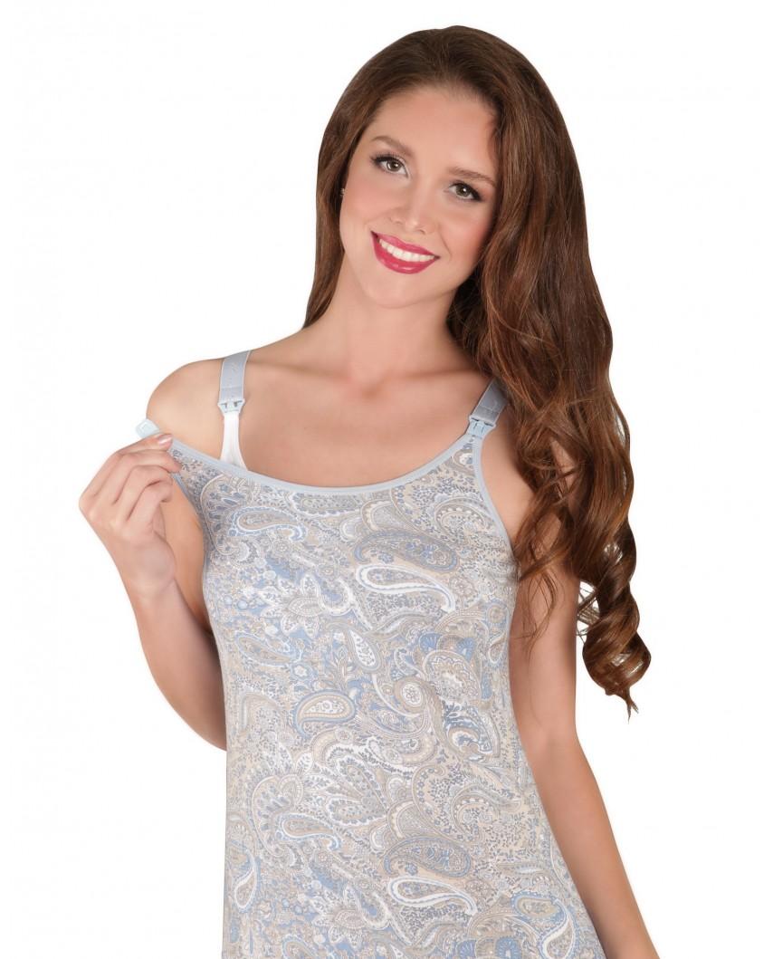 Ночная сорочка Ева (голубой)