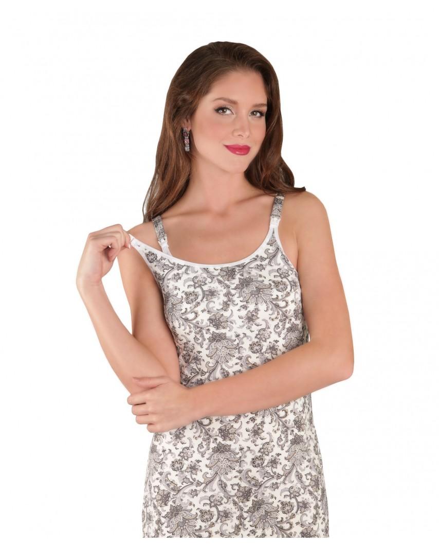Ночная сорочка Ева (серый)