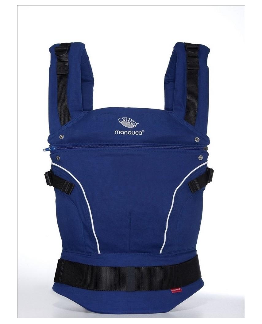 Эрго-рюкзак Manduca pureCotton Royal Blue (синий)